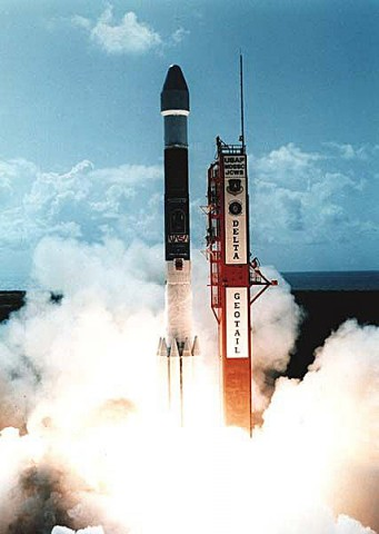 On July 24th, 1992, the joint JAXA/NASA Geotail mission was launched to study the magnetosphere. (Credit: JAXA)