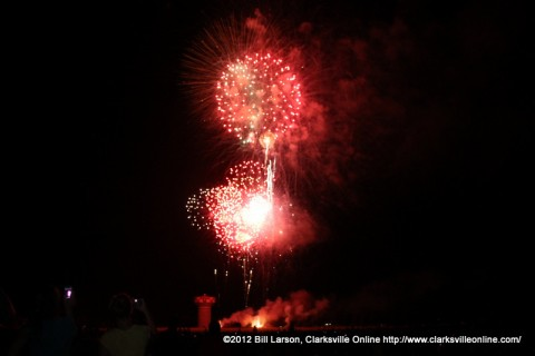 The 2012 Independence Day Fireworks at Fort Campbell
