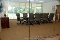 One of the two meeting rooms at the New Terminal