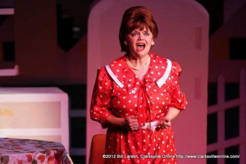 Marion Cunningham (Jama Bowen) singing What I Dreamed Last Night
