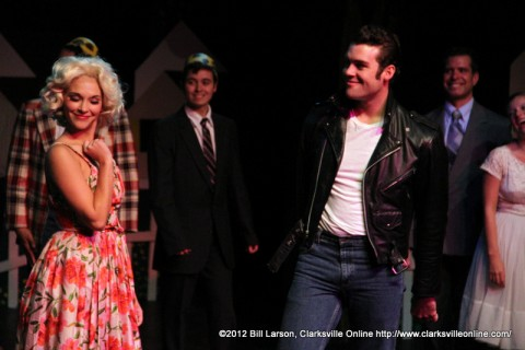 Pinky Tuscadero played by Kaitlyn Doughty stole the show