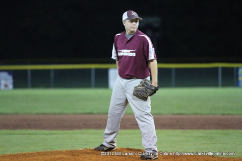 Logan Sargent was the winning pitcher for Johnson County.