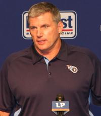 Tennessee Titans Head Coach Mike Munchak