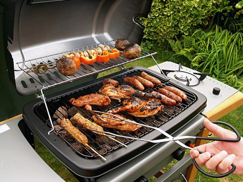 Outdoor natural gas or propane gas grills are permitted during the burn ban. Charcoal and wood fired outdoor grills use is BANNED.