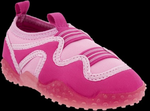 Old Navy Pink Toddler Girl Aqua Sock