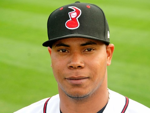 Nashville Sounds Pitcher Wily Peralta.
