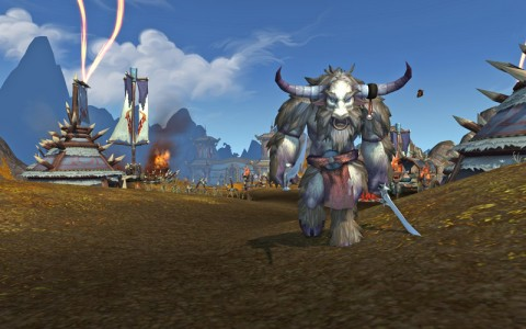 Yaungol in Kun-Lai Summit.