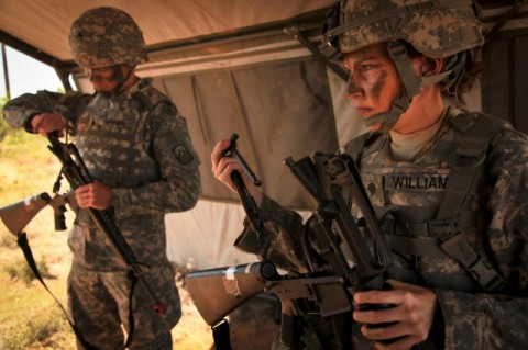 The Army is developing new body armor that is more form-fitting for female Soldiers.(U.S. Army)