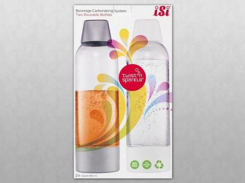 iSi North America Recalls Twist'n Sparkle Beverage Carbonation System