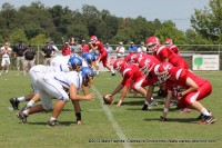 2012 Clarksville Academy vs  Montgomery Central