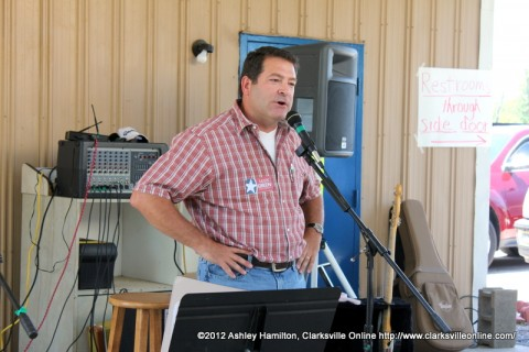 Mark Green at the 104th Annual Lone Oak Picnic