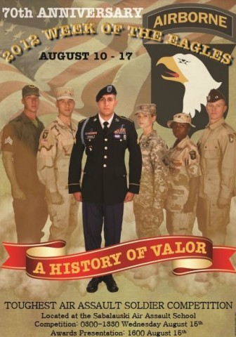 70th Anniversary - 101st Airborne Division - Week of the Eagles