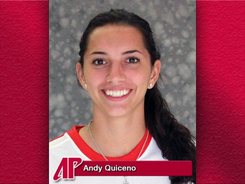 Austin Peay Lady Govs Soccer's Andy Quiceno is the APSU Athlete of the Week.
