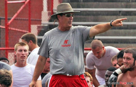 Austin Peay Football to start practice Monday afternoon. (Courtesy: Austin Peay Sports Information)