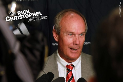 Rick Christophel Radio Show. (Courtesy: Austin Peay Sports Information)