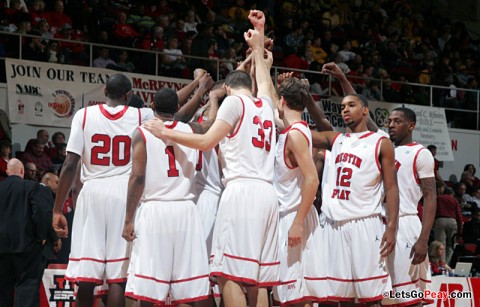 Austin Peay Men's Basketball. (Courtesy: Keith Dorris/Dorris Photography)