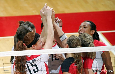 Austin Peay Women's Volleyball. (Courtesy: Keith Dorris/Dorris Photography)