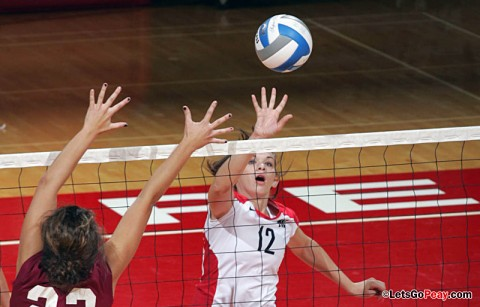 Austin Peay Volleyball. (Courtesy: Keith Dorris/Dorris Photography)