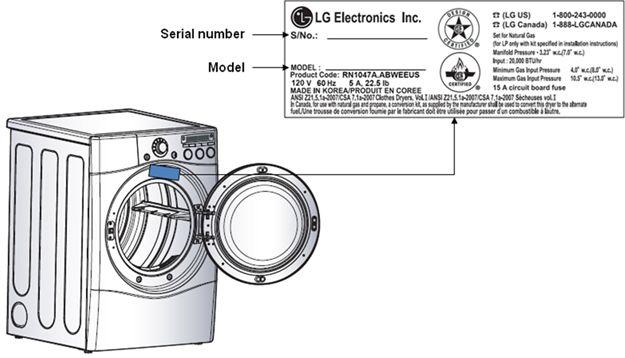 Both LG and Kenmore Elite Dryers' Model and Serial Numbers ... Kenmore Elite Dryer Wiring Diagram on whirlpool dryer schematic wiring diagram, maytag dryer wiring diagram, amana dryer wiring diagram, westinghouse dryer wiring diagram, bosch dryer wiring diagram, kenmore dryer heating element diagram, electrolux dryer wiring diagram, kenmore stackable dryer diagram, kenmore stacked washer dryer manual, kenmore range wiring diagram, kenmore electric dryer diagram, kenmore dryer wiring diagram 41797912701, haier dryer wiring diagram, kenmore 110 dryer wiring, hotpoint dryer wiring diagram, kenmore dryer parts diagram, kenmore appliance wiring diagrams, frigidaire dryer wiring diagram, ge dryer wiring diagram, kenmore 110 wiring diagram,