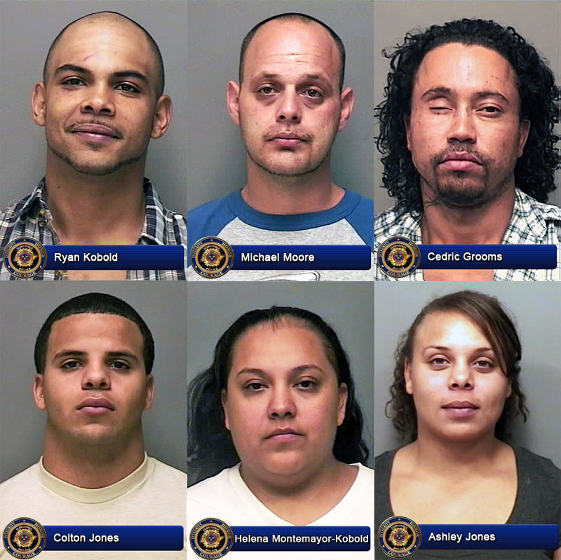 Clarksville Police Arrest Six Neighbors Involved In