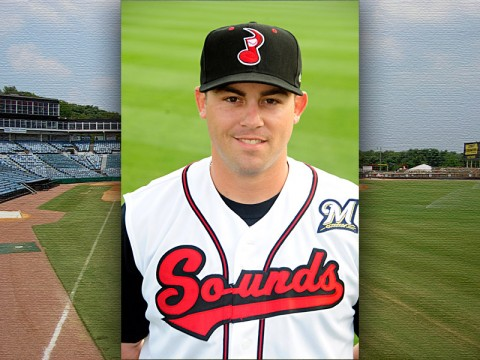 Nashville Sounds' Caleb Gindl