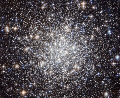 Hubble Captures a Collection of Ancient Stars (Credit: NASA & ESA, Acknowledgement: Gilles Chapdelaine)