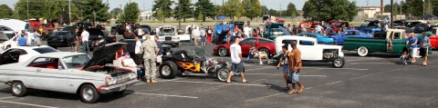 The 2012 Week of the Eagles Car Show