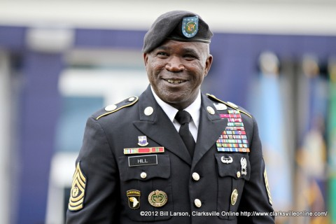 Command Sergeant Major  Marvin L. Hill