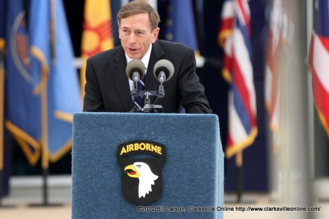 General David H. Petraeus (U.S. Army, retired) Director of the CIA