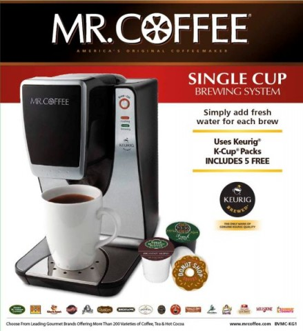 Mr. Coffee Single Cup Brewers Recalled by JCS