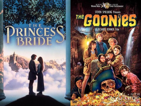 """The Princess Bride"" and ""The Goonies"" Saturday at Movies in the Park"