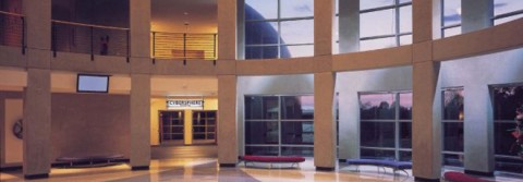 The Renaissance Center lobby