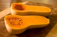 Butternut Squash ready for baking