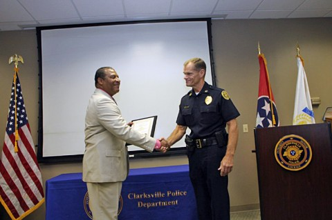Detective Ray Colon and Chief Ansley