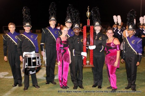 Clarksville High School Marching Wildcats were the Grand Champions of the 2nd Annual Indian Nation Marching Invitational.