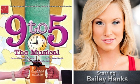 """9 to 5: The Musical"" begins September 14th at the Roxy Regional Theatre starring Bailey Hanks."
