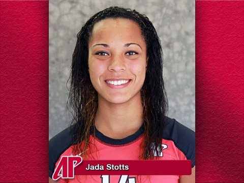 Jada Stotts APSU Athlete of the Week.