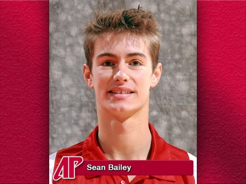 2012 Ohio Valley Conference Scholar-Athlete Award, APSU's Sean Bailey