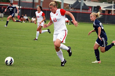 APSU Women's Soccer. (Courtesy: Brittney Sparn/APSU Sports Information)