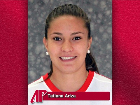 APSU Athlete of the Week Tatiana Ariza
