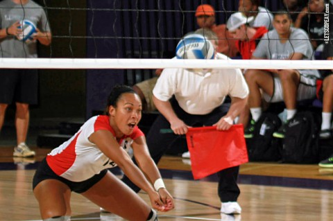 Austin Peay Women's Volleyball. (Courtesy: Brittney Sparn/APSU Sports Information)