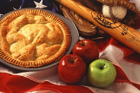 Old Fashion American Apple Pie