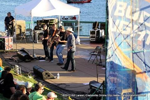 The Beaver Country Idol on the Budweiser Stage at the 2012 Riverfest Celebration