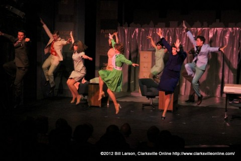 A image from the Roxy's production of 9-to-5
