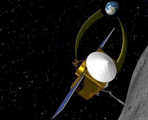 NASA's Origins-Spectral Interpretation-Resource Identification-Security-Regolith Explorer (OSIRIS-REx). (NASA / Goddard / University of Arizona)