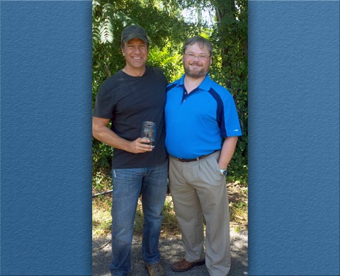 "Mike Rowe, host of the Discovery Channel's ""Dirty Jobs,"" recently talked with APSU associate professor of history Dr. Kristofer Ray for an upcoming Discovery Channel program ""How Booze Built America."""