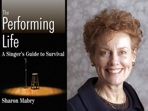 "Dr. Sharon Mabry to read from new book ""The Performing Life: A Singer's Guide to Survival."" at Woodward Library Society Social April 21st."