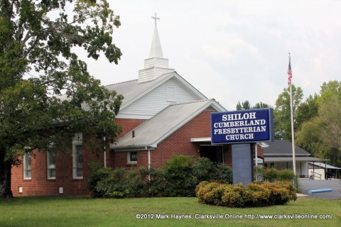 Shiloh Cumberland Presbyterian Church located at 4812 Shiloh Canaan Road Palmyra, TN