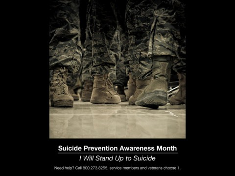 The Department of the Army has designated September as Army Suicide Prevention Month. Communicating with others is the first step toward preventing suicide. Reaching out for help is not a sign of weakness – it is a sign of strength.