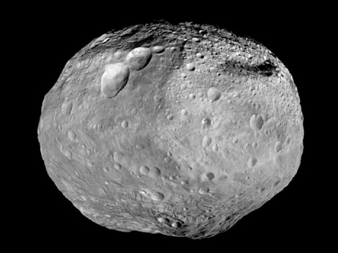 As NASA's Dawn spacecraft takes off for its next destination, this mosaic synthesizes some of the best views the spacecraft had of the giant asteroid Vesta. (Image credit: NASA/JPL-Caltech/UCAL/MPS/DLR/IDA)